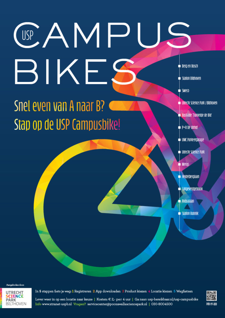 USP Campusbikes Poster