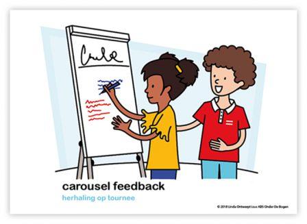 Dagritmekaart bovenbouw caroussel feedback