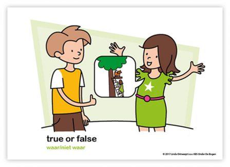 Dagritmekaart bovenbouw true or false