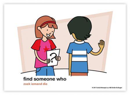 Dagritmekaart bovenbouw find someone who