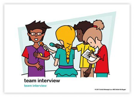 Dagritmekaart bovenbouw team interview