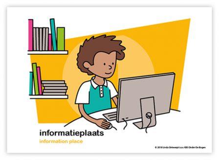 Dagritmekaart onderbouw informatieplaats