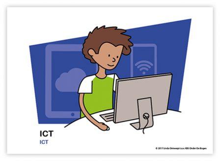 Dagritmekaart bovenbouw ICT