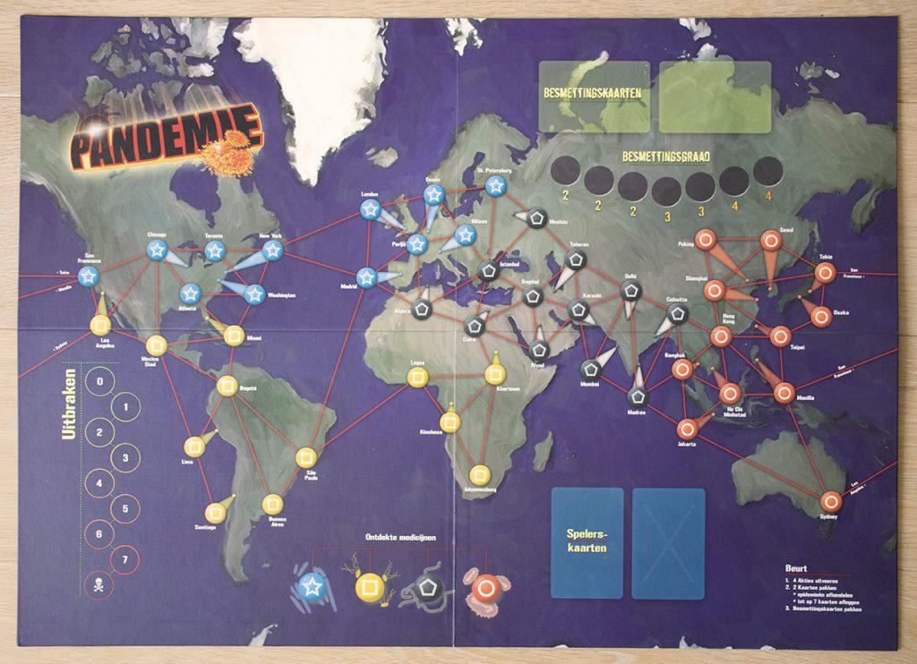 Bordspel Pandemie