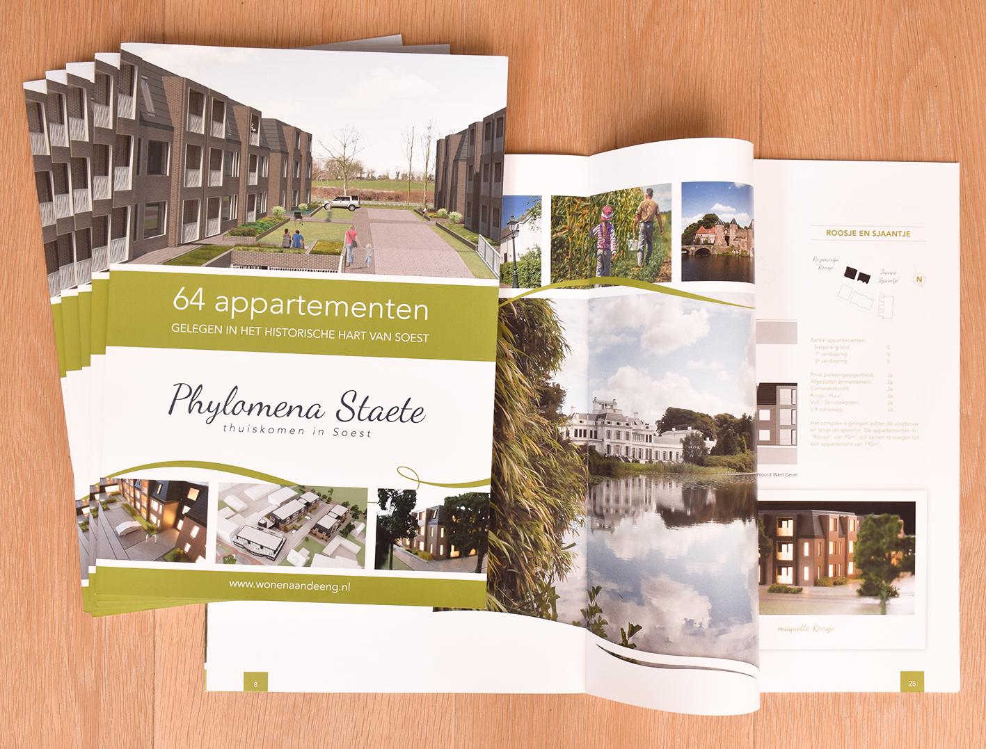 Ontwerp brochure vastgoed