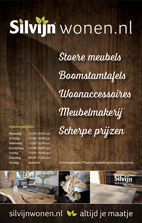 ontwerp poster silvijn wonen soest