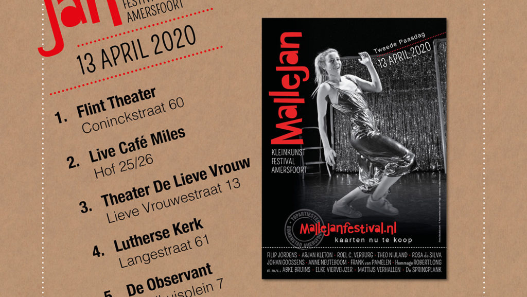Mallejan Kleinkunstfestival Amersfoort 2020