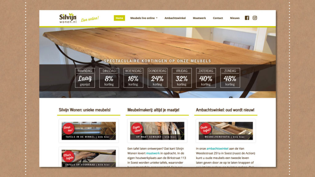 Webdesign Silvijn Wonen Soest