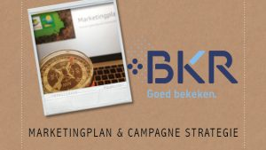 Marketingplan campagne strategie