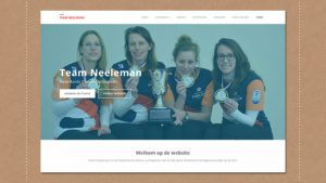 ontwerp website damescurling