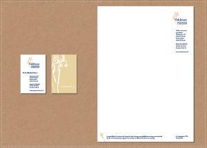 ontwerp huisstijl logo visitekaartje briefpapier