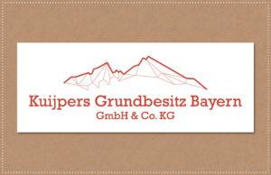 logo ontwerp kuijpers grundbesitz bayern