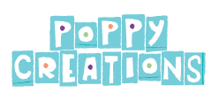 Ontwerp logo Poppy Creations