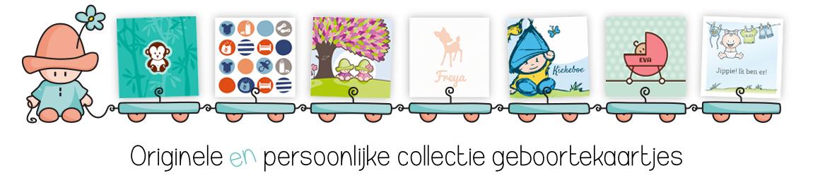 ontwerp geboortekaartje poppy creations poppycards